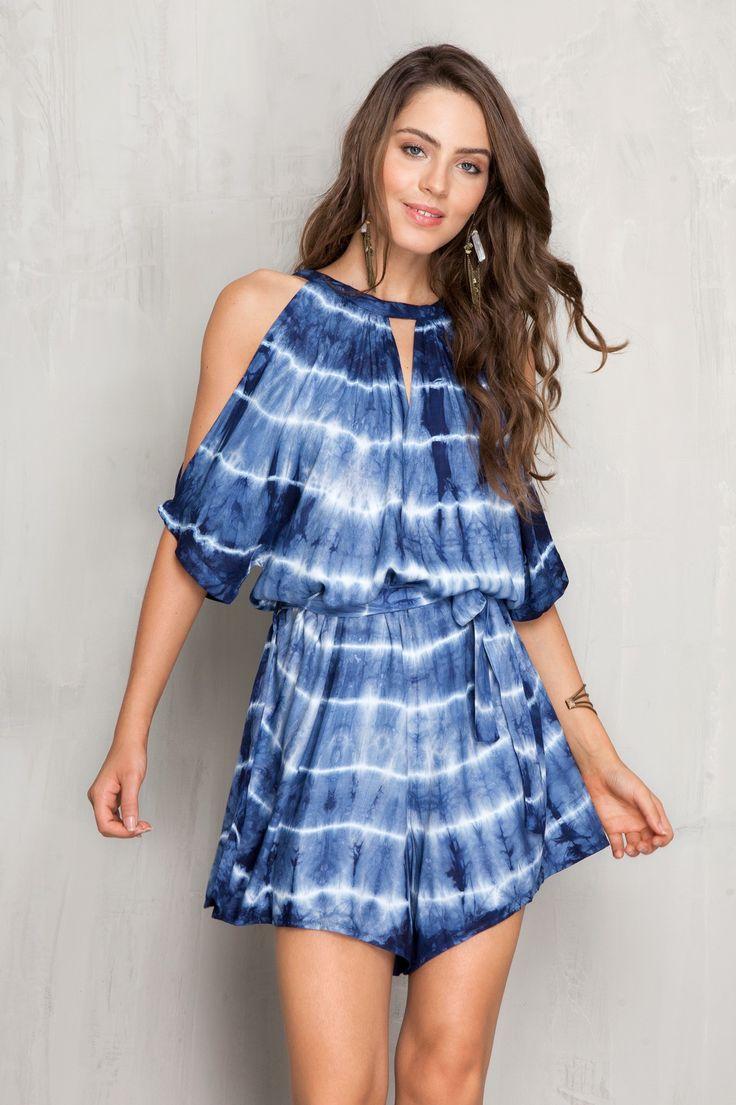 macaquinho tie dye | Dress to