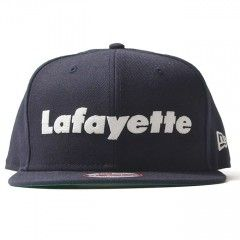 Lafayette × NEW ERA ラファイエット Lafayette LOGO 9FIFTY SNAPBACK CAP スナップバックキャップ 帽子 ニューエラ LFT16SS053 NAVY