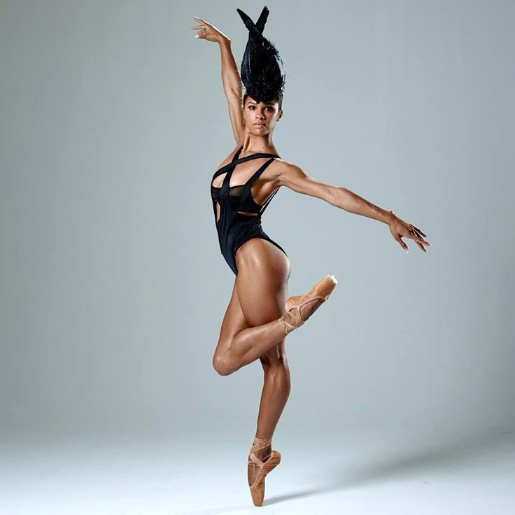 Misty Copeland. The grace and poise of ballerinas is so feminine and elegant!