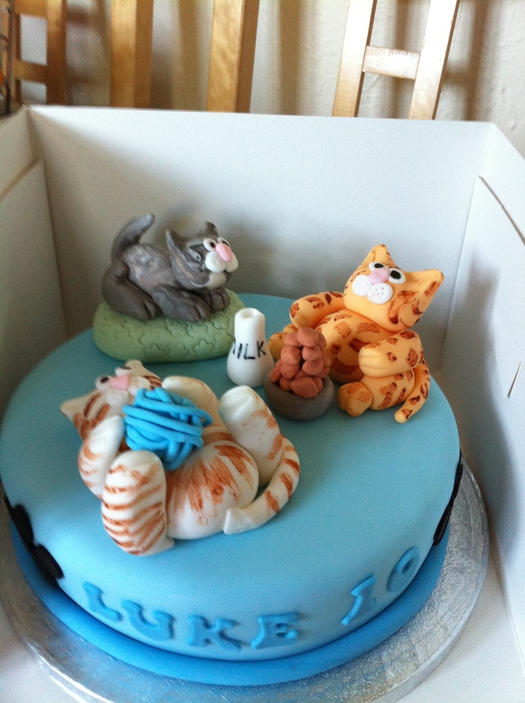 Cat lovers cake