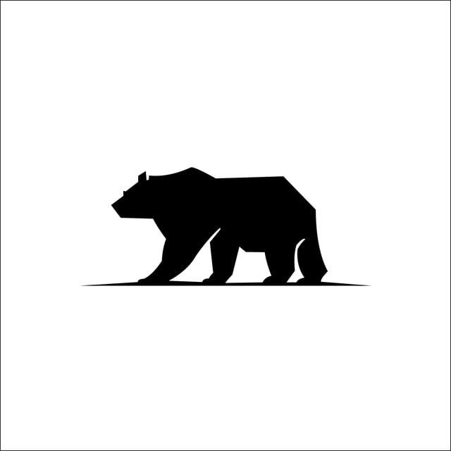 bear silhouette logo vector animals silhouette of a polar bear logo icons bear icons a icons png and vector with transparent background for free download in 2020 bear logo design bear bear silhouette logo vector animals