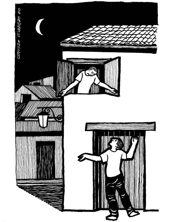 Luke 11:1-13 at Cerezo Barredo's weekly gospel illustration