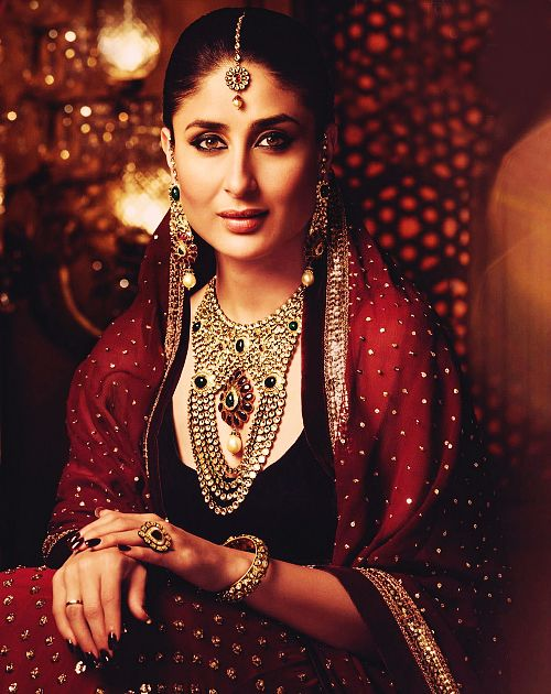 Kareena Kapoor, Indian Bride Jewellery set