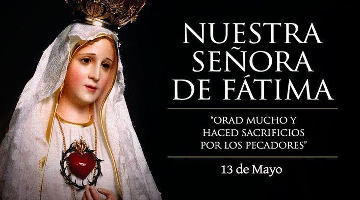 Cada 13 de mayo se celebra en todo el mundo la Fiesta de la Virgen de Fátima, en memoria de su primera aparición en las colinas de Cova de Iría (Portugal) en 1917.