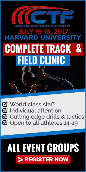 Are you a high school track coach struggling with a specific event? Complete Track & Field has all the answers you need for the sprints, hurdles, jumps, and mid distance runners.