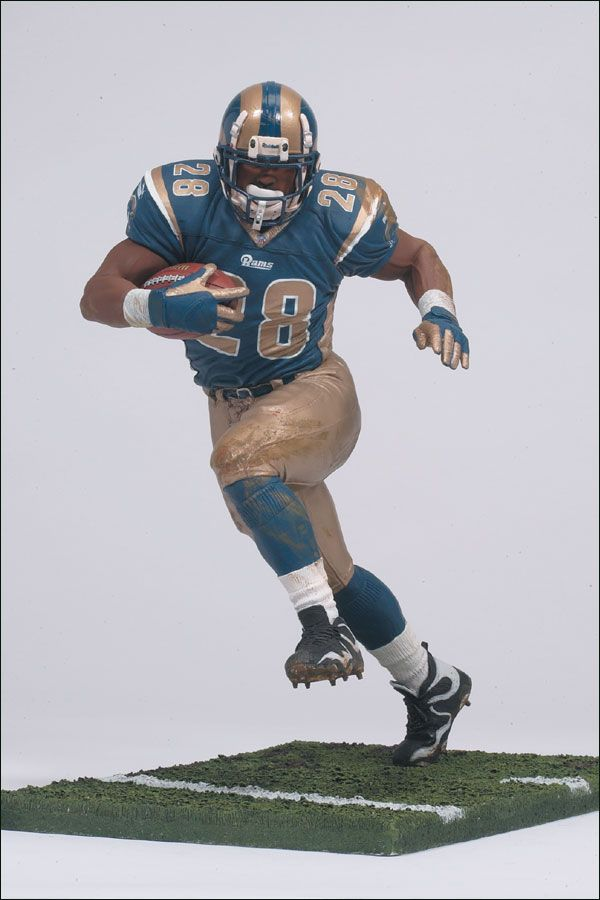 Marshall Faulk (St. Louis Rams) NFL Series 2 McFarlane