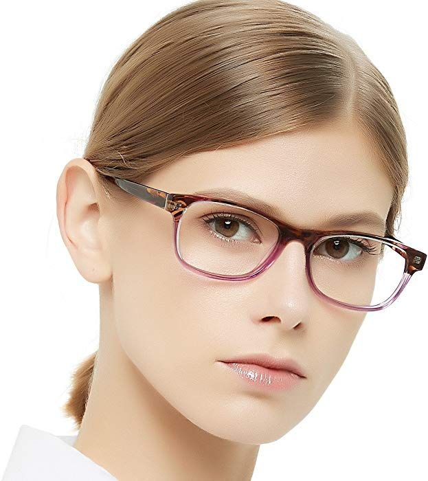 99c75ce3c Amazon.com: OCCI CHIARI Rectangle Stylish Eyewear Frame Non-prescription  Eyeglasses With Clear Lenses Gifts for Women: Shoes
