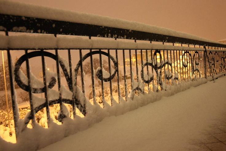 Blizzard 2012 a Castel di Lama