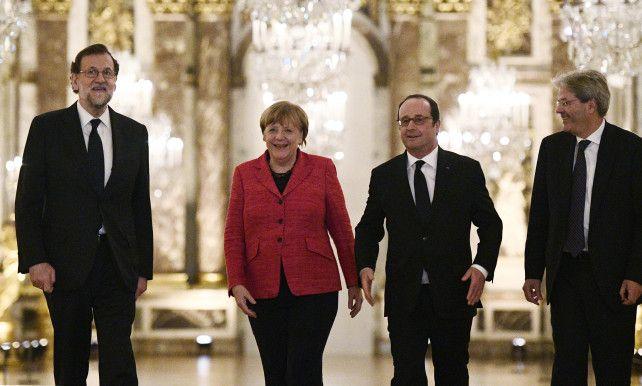 Grote lidstaten sturen aan op 'EU met verschillende snelheden' | Europese Unie | De Morgen