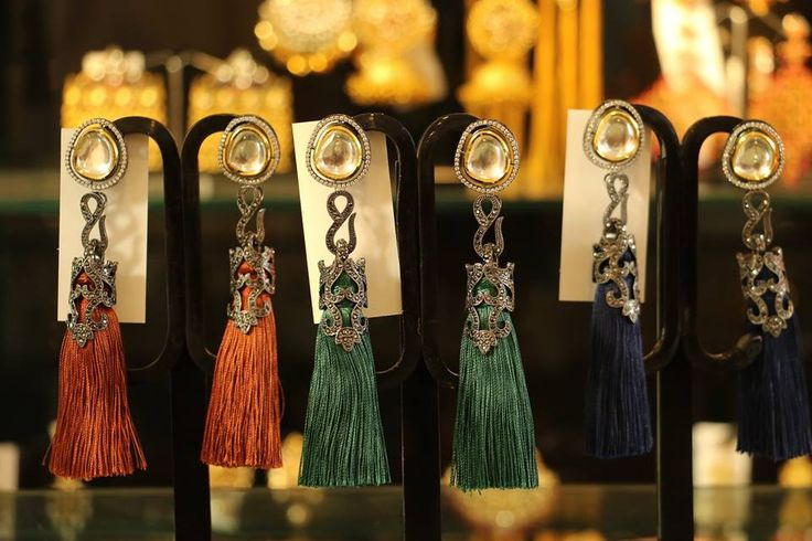#PPUSExclusives  These tassel dusters by Bansri are available at our offline pop up in delicious colors to match your flair of style!   Come visit our OFFLINE POP-UP.  Address: A-287, First Floor, Defence Colony  Time: 11am - 9pm  #ppusexclusives #jewelry #bansri #festive #offline #popup #preview #indianfashion #indiandesigners #perniaspopupshop