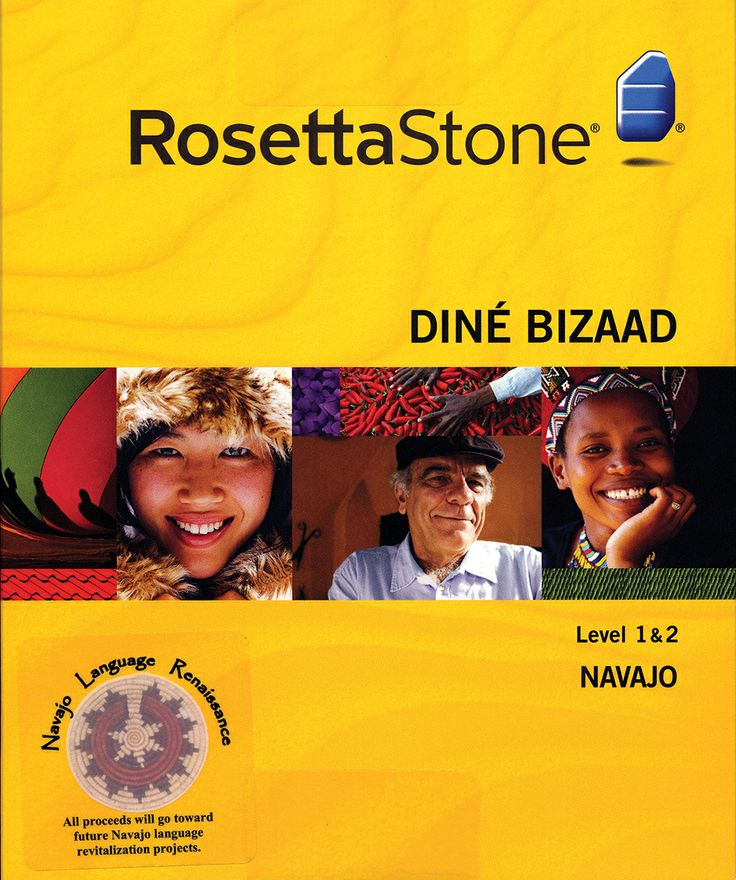 Rosetta Stone Navajo is a fun, easy, new tool to learn the language in your home, school, library or chapter house.  It provides an opportunity to use the Navajo language in real-life situations and to use speech recognition to check for accuracy. The program matches spoken dialogue and text with photos. $200.  Salina Bookshelf Publishing Company