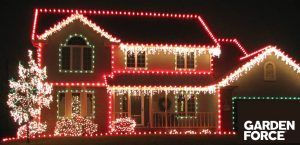 Add outdoor Christmas decorations to your home and garden   Add that extra touch with this Christmas lights this festive season by lighting up your home and garden.  Sparkle with fairy lights  Customise your home with fairy lights save power and use solar powered fairy lights. Some lights change color and flashing functions.  Wrap them around the trees and drape over the fences or around the base of your plants to create that spectial magical look. Use plastic clips or hooks instead of pins…