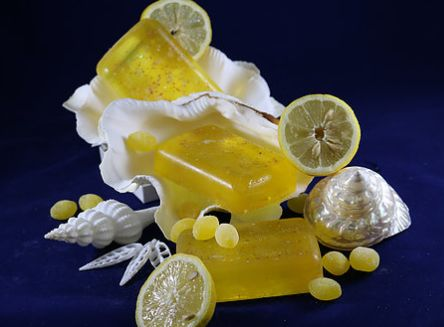 Nuthin' But Lemon - Tropical Girl Soaps Life is full of lemons but you'll like the lemons in our Nuthin' But Lemon soap! Lemon fragrance typically fades with time but with the grated lemons,lemon juice and essential oils you will be amazed at the true long lasting lemon fragrance!! 6 ounce bar