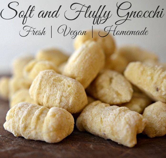 House Vegan: Soft and Fluffy Gnocchi