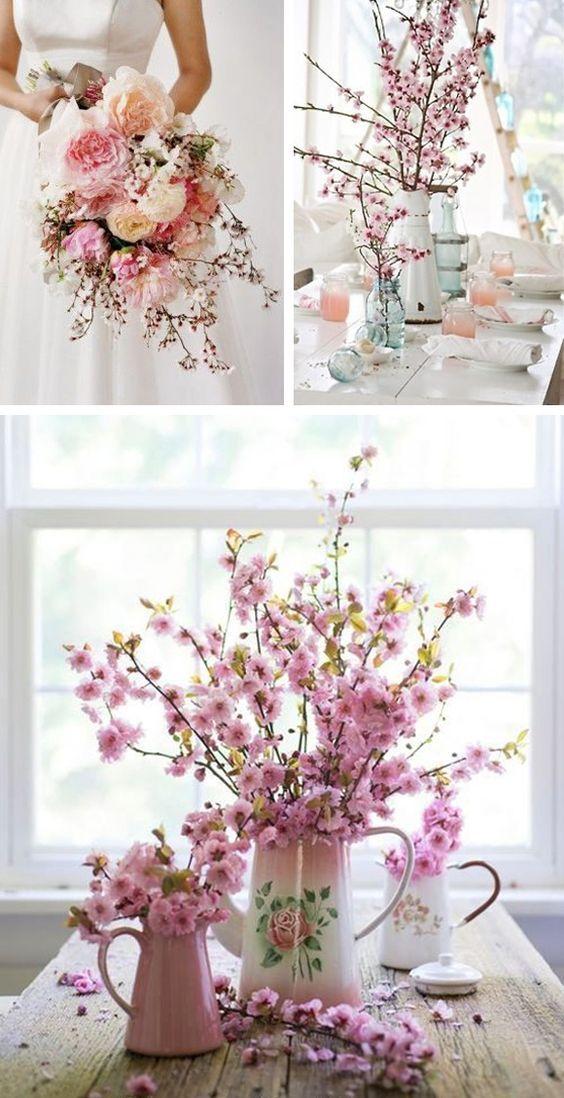 Incredible Bodas De Primavera Flower Arrangements Oriental Wedding Home Interior And Landscaping Dextoversignezvosmurscom