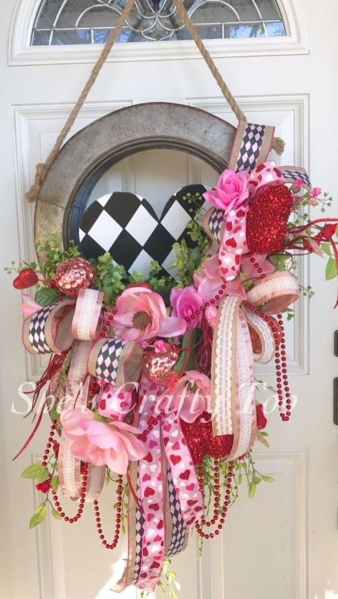 Unique Valentines Door Hanger Designs 34 50 Things to do by