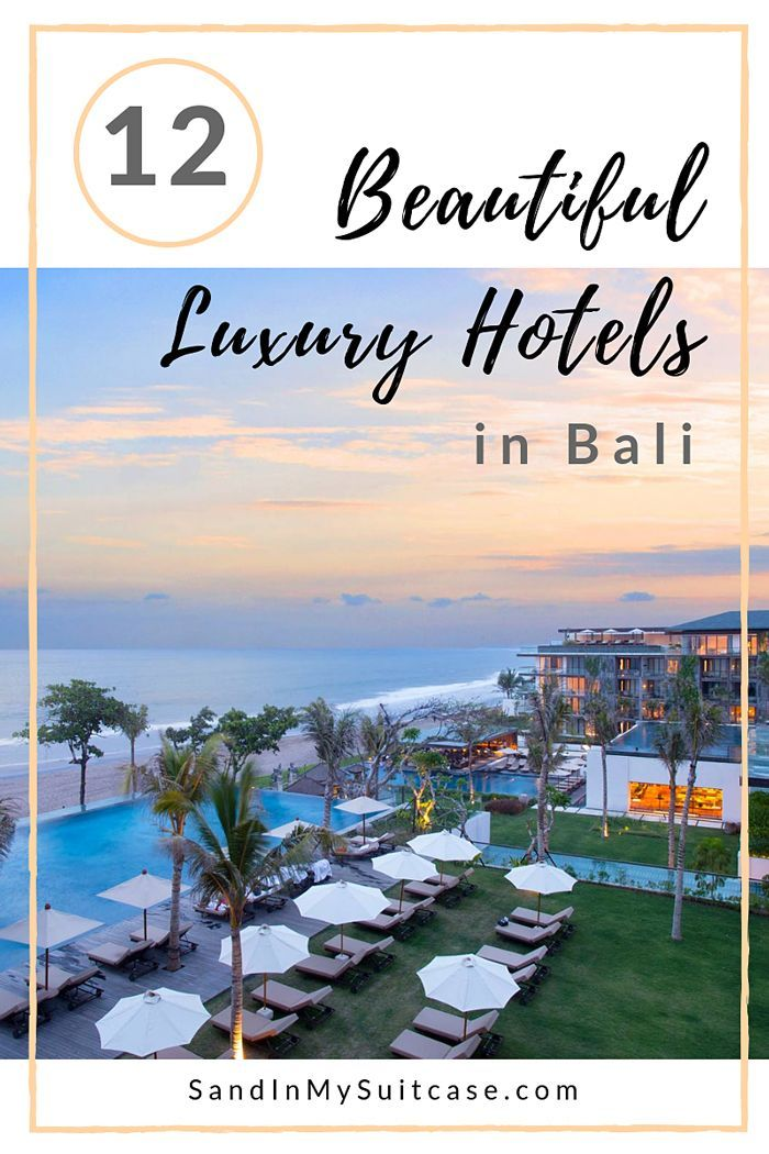 Beach Lover Romantic 14 Best Luxury Hotels In Bali For You