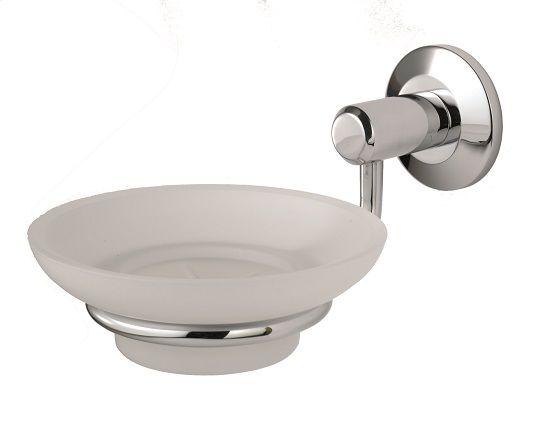 De L'eau Tempo Soap Dish And Holder CP - bathroom & cubicle fittings - bathroom fittings - DE L'EAU Tempo Soap Dish And Holder Cp - Timber, Tool and Hardware Merchants established in 1933