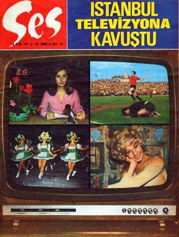 """""""Istanbul Televizyona Kavuştu"""" (1971) #nostalji #birzamanlar #istanlook"""