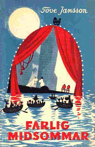 1954 Farlig midsommar, Tove Janssons fjärde bok i serien om Mumintrollen, publiceras. Temat i boken är teater, som beskrivs som en irriterande men i slutändan givande process.