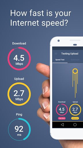 Meteor - App Speed Test v1.0.4 build 39   Meteor - App Speed Test v1.0.4 build 39Requirements:4.1Overview:Connection testing with Meteors speed test and download test is super fun and easy! Does your wifi or internet connection quality support the upload speed you need to really maximize your favorite apps performance? Just do a quick signal network speed or download test and check streaming video speed and upload speed to find out!  Say goodbye to gibberish  Meteor gives an easy to use…
