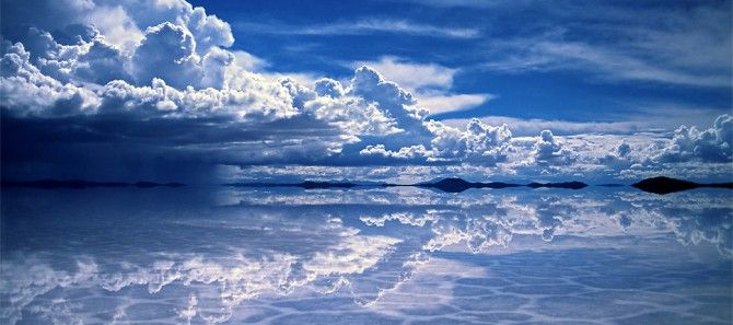 I met a Bolivian exchange student last week who was telling me I just *had* to go to Salar de Uyuni.  Now I see why.