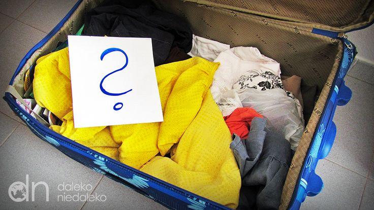 Jak się pakować żeby zwariować