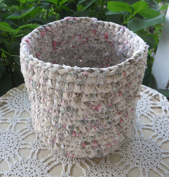 Handmade Cotton Baskets : Best images about handmade fabric basket on