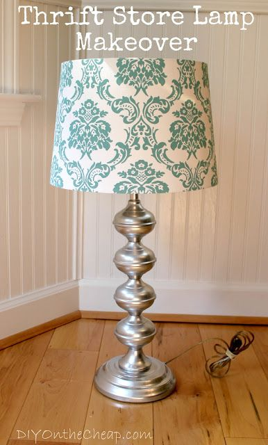 1000 ideas about lamp makeover on pinterest diy lamps for Homemade floor lamp ideas