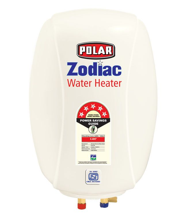POLAR 25 LTR ZODIAC ABS 5 STAR GEYSER WHITE A combination of features, style and utility, the POLAR 15L WHAH15M1 water heater is an excellent choice.    #Buy_Geyser_in_India    #Online_geyser
