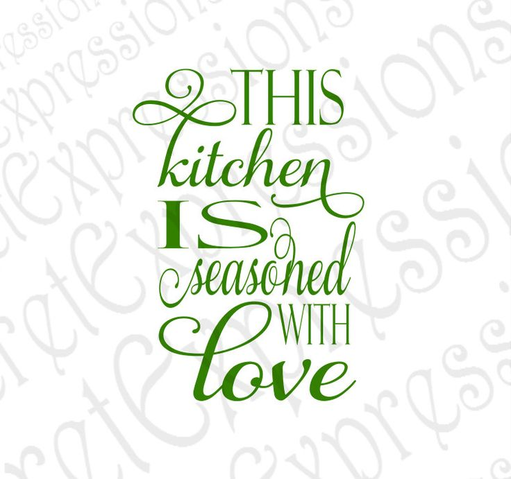 Download This Kitchen is Seasoned with Love Svg Home Digital SVG ...