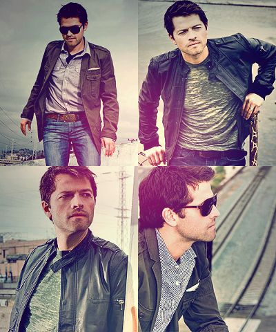 Okay, Misha has always been a love of mine--obviously--but, wowza. Looking great, Mr. Collins. Definitely too lovely.