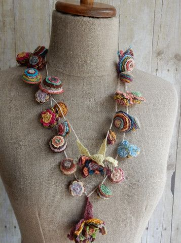 """""""Pop Up"""" Necklace   The French Needle   French Needlework Kits, Cross Stitch, Embroidery, Sophie Digard"""