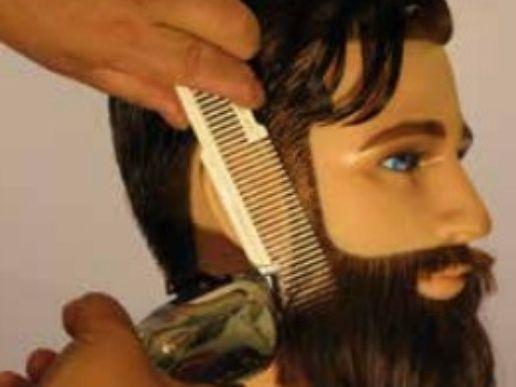 How create a classic beard cut