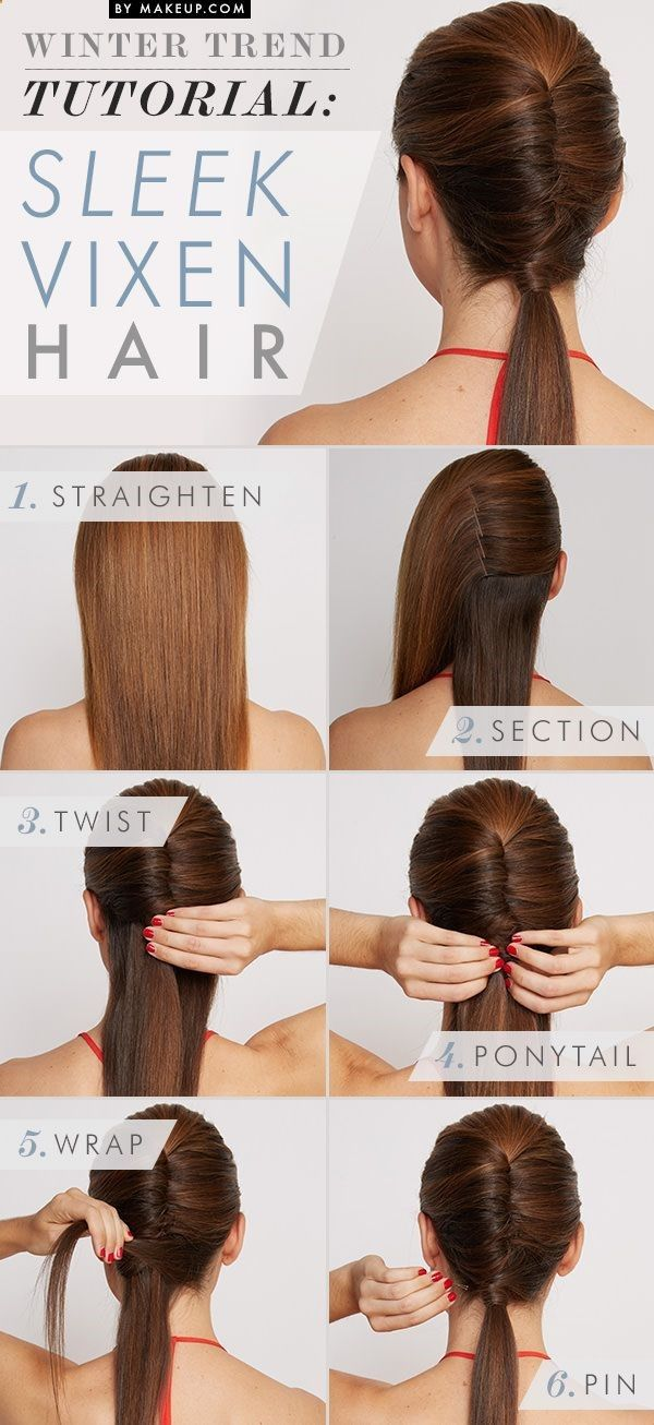 Sleek Vixen Hairstyle Tutorial