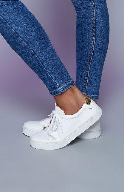 Windsor Smith Sawyer Sneaker White