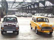 'World's best Taxi'  Hindustan Motors' Ambassador.