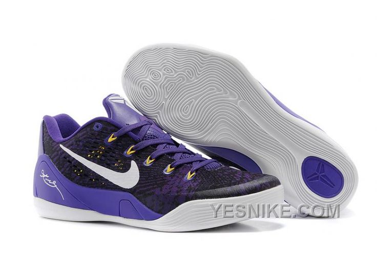 http://www.yesnike.com/big-discount-66-off-nike-kobe-9-low-em-black-court-purplewhite-for-sale.html BIG DISCOUNT ! 66% OFF! NIKE KOBE 9 LOW EM BLACK/COURT PURPLE-WHITE FOR SALE Only $95.00 , Free Shipping!