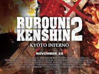 Download mudah Gratis Movie Samurai X Rurouni Kenshin 2 Kyoto Inferno HD 720p 480p Mp4 Subtitle Indonesia