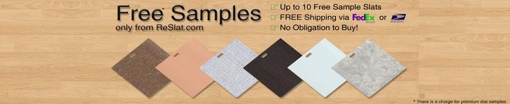 ReSlat.com | Vertical Blind Replacement Slats