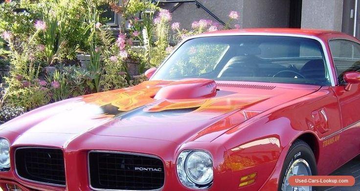 Pontiac: Trans Am #pontiac #transam #forsale #canada