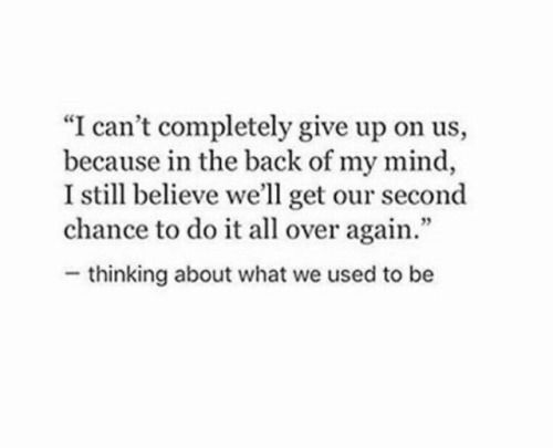 Quotes About Second Chance: Best 25+ Second Chances Ideas On Pinterest