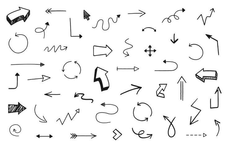 Medialoot - Hand Drawn Vector Arrows