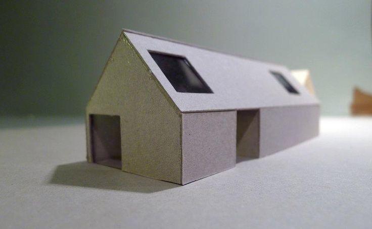 Imberg Arkitekter - Model of an extension