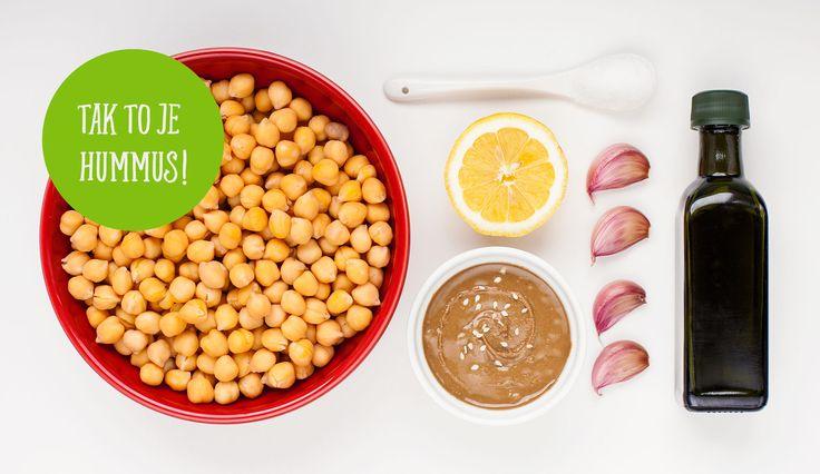 Recepty na hummus, které vás dostanou