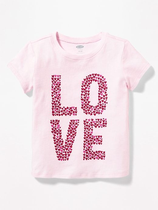 35c046a30 Graphic Crew-Neck Tee for Toddler Girls | holiday 2018 girls | Girls ...