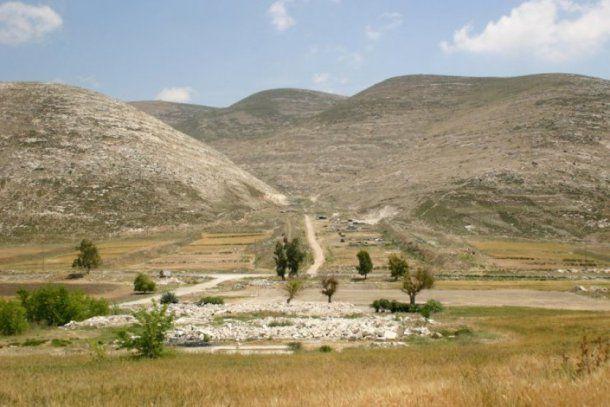 Paisaje de Bir Tawil, donde no hay nada ni nadie.