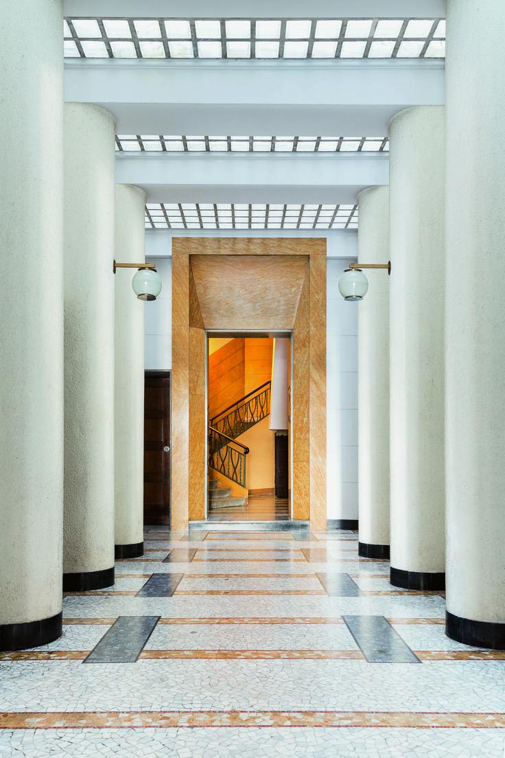 Milan's sumptuous doorways celebrated in new book - Curbedclockmenumore-arrow : 'Entryways of Milan' spans modernist buildings from 1920 to 1970