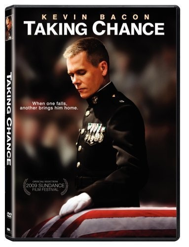 Taking Chance.  This 2009 film came to screen based on the 30-page journal of LT. Col Mike Strobl, a Desert Storm veteran, who volunteered to escort the body of  19-year old Marine Chance Phelps back to his Wyoming home. Very poignant and soul searching.
