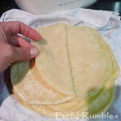 Moo Shu Pork Pancakes